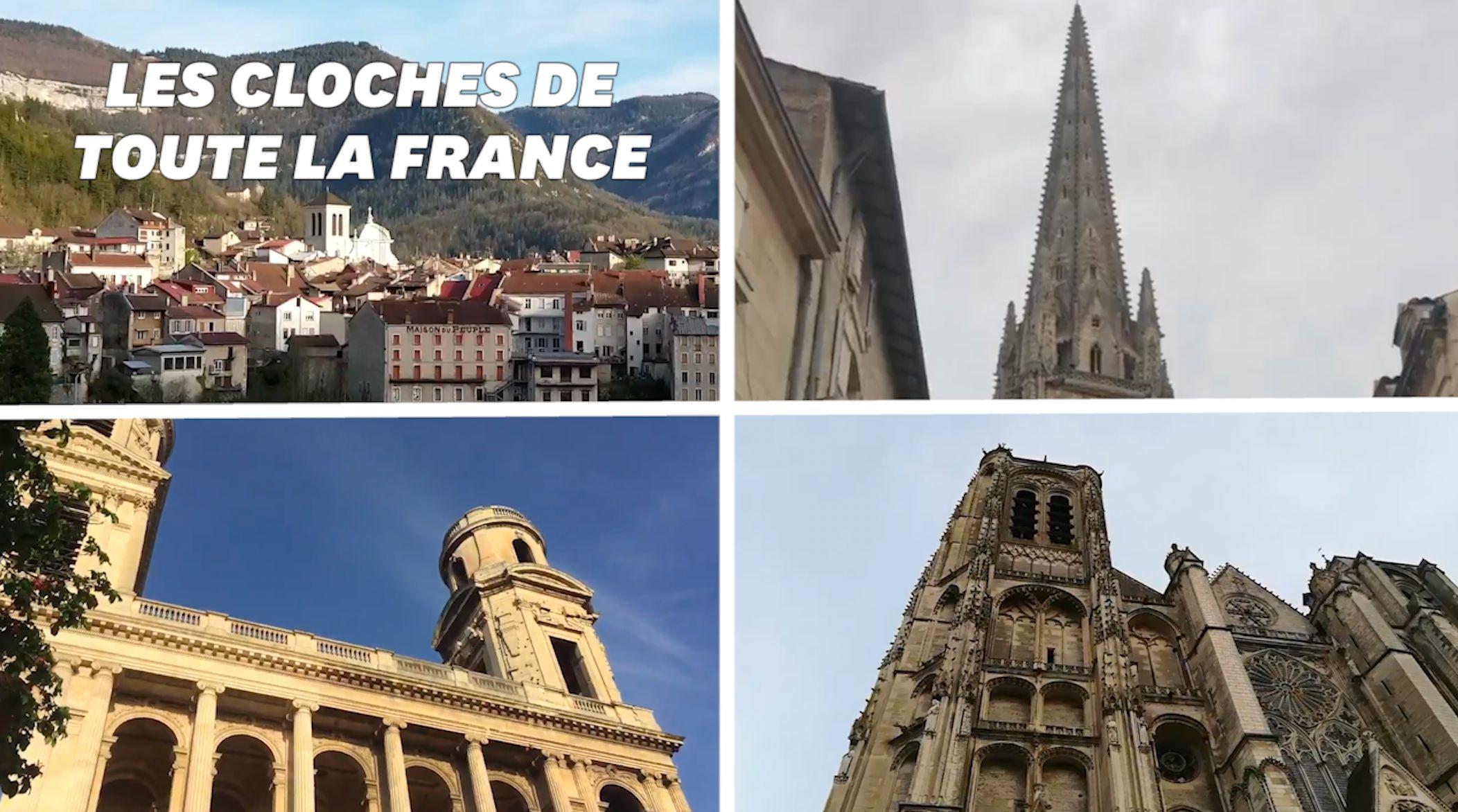 Les cloches des cathédrales sonnent simultanément dans toute la France en hommage à