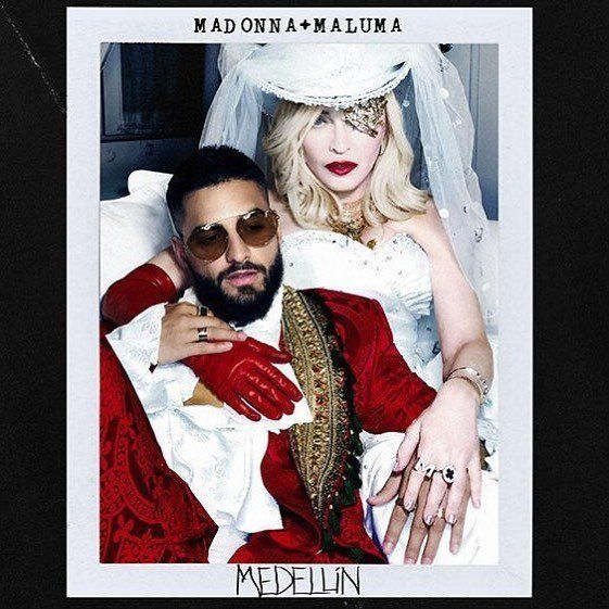 Madonna quebra jejum de 4 anos e lança 'Medellín', parceria com