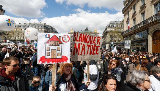 Pourquoi Paris est au cœur de la contestation contre la loi Blanquersur