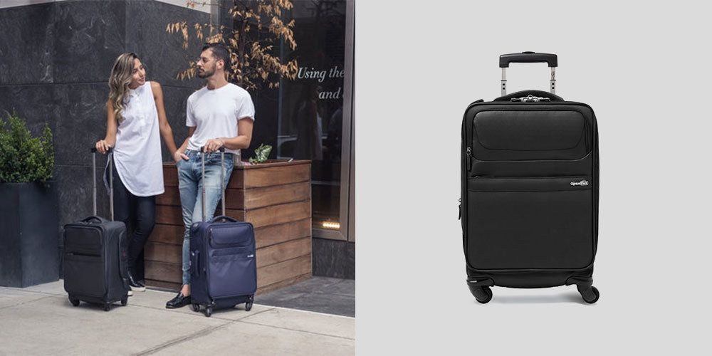 This Vacuum-Sealing Suitcase Is The Best Luggage For Over-Packers