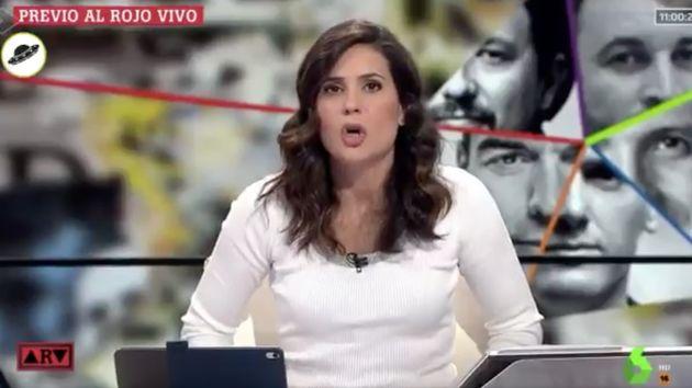 La réplica de Carlos del Amor y Juan Carlos Rivero (TVE) tras esta insinuación de María Llapart en La