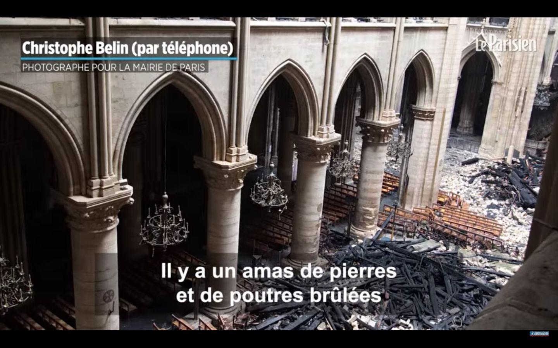 Notre-Dame: les images inédites d'un photographe de la mairie de