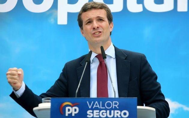 Pablo Casado, en una imagen de