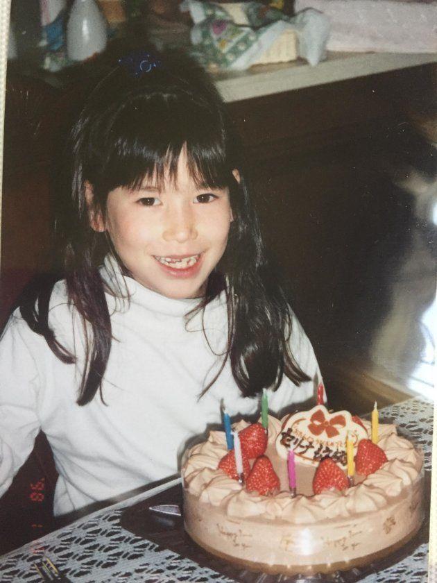 7歳の誕生日パーティーで