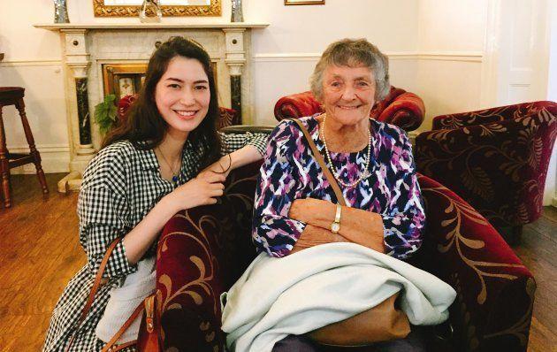 イギリスに住む祖母と