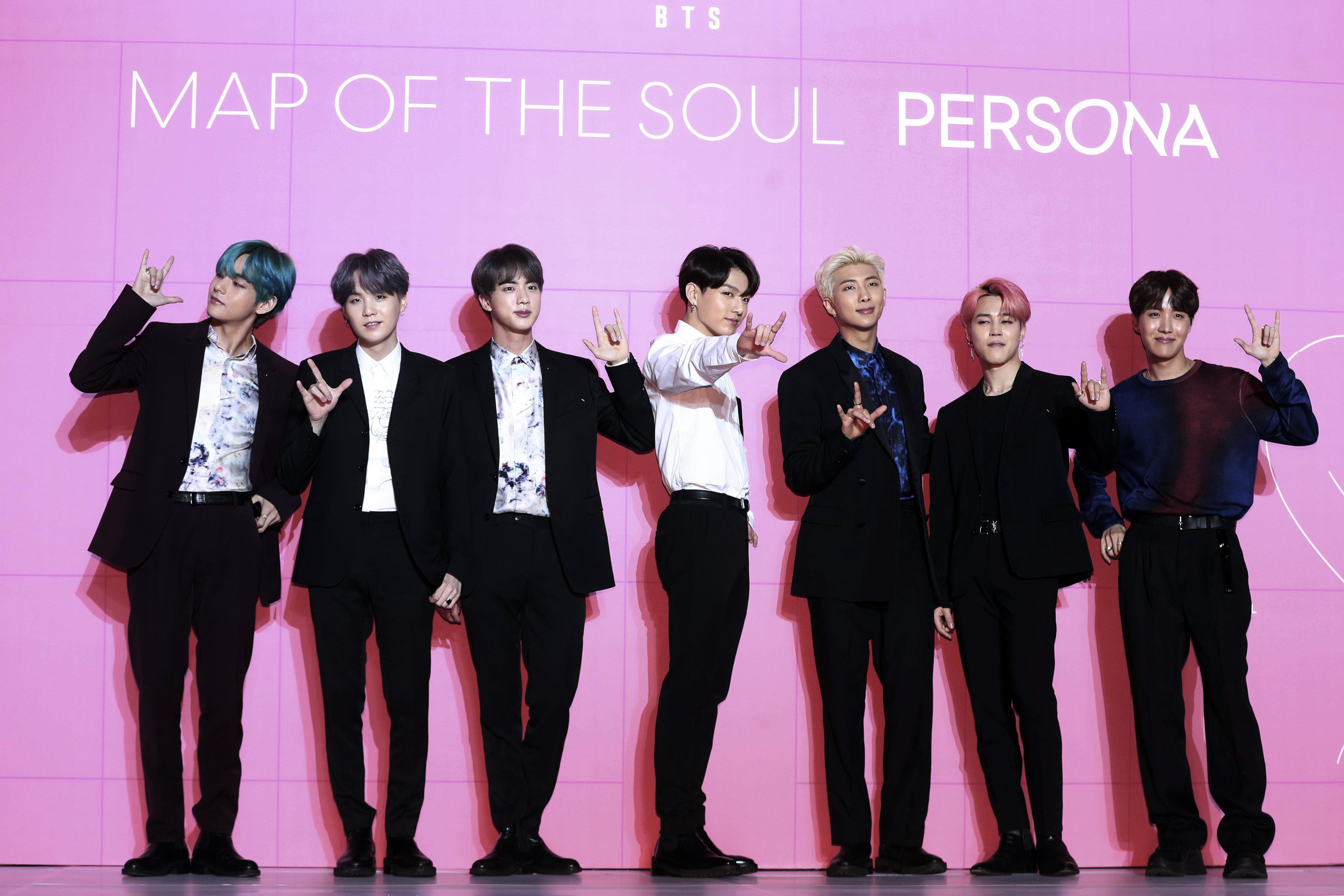 방탄소년단 새 앨범 'Map of the Soul: Persona' 초동이 213만 장으로 최종