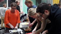 핀란드 요리사의 '김치 워크숍'에