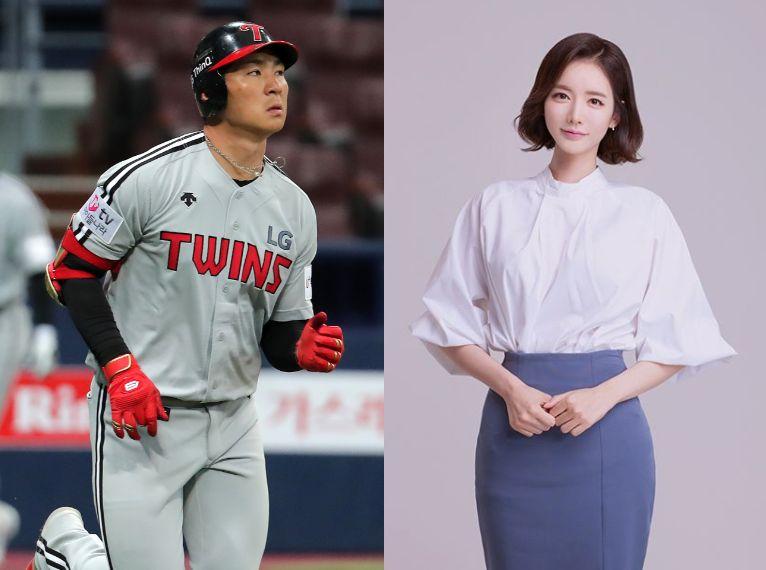 LG트윈스가 오지환·김영은 결혼 보도에 내 놓은