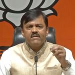 Shoe Thrown At BJP MP Narasimha Rao During Press