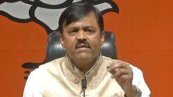 Shoe Thrown At BJP MP Narasimha Rao During Press