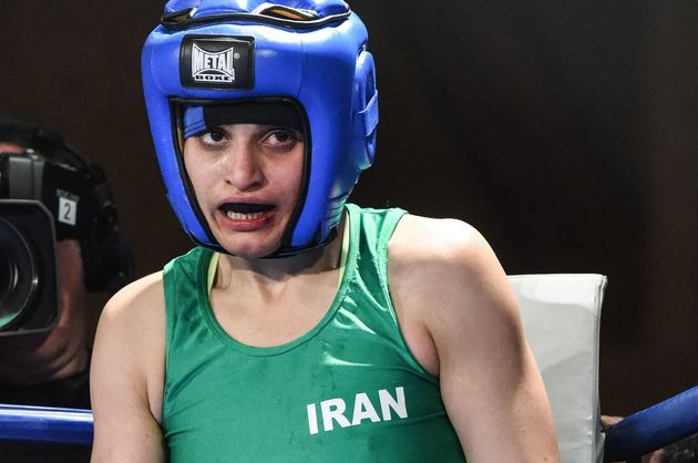 Iranian Boxer Who Won Bout In France Says She Can't Go Back Home