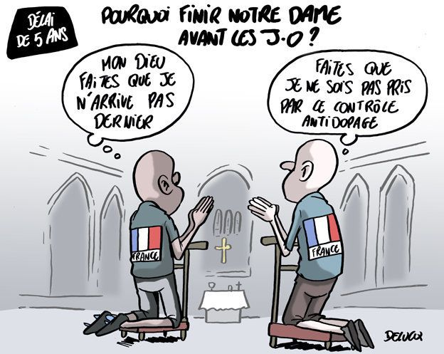 On sait pourquoi Notre-Dame de Paris doit être terminée pour les JO