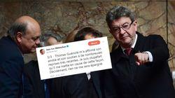 """Jean-Luc Mélenchon """"stupéfait"""" par les accusations de Thomas"""