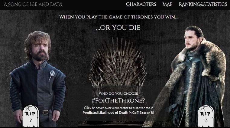 Ποιος ζει, ποιος πεθαίνει στο Game of Thrones-Ερευνητές ανέλυσαν επιστημονικά τις πιθανότητες κάθε