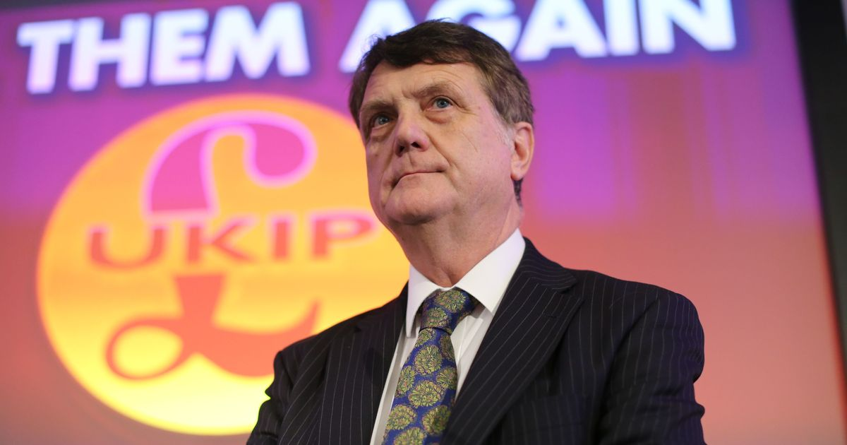 Ukip Leader Walks Out Of TV Interview After Being Asked