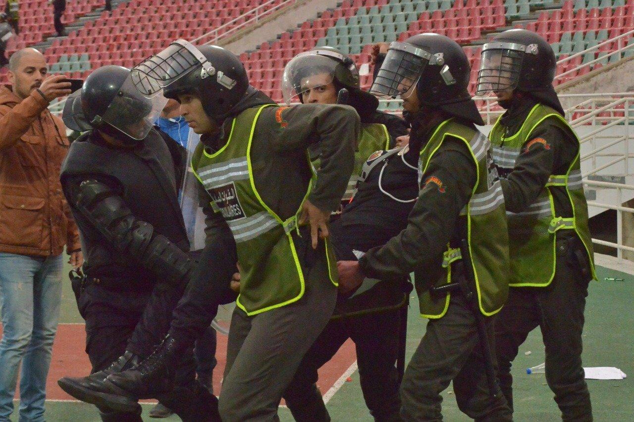 Botola: Violences et blessures lors du match FAR-RSB