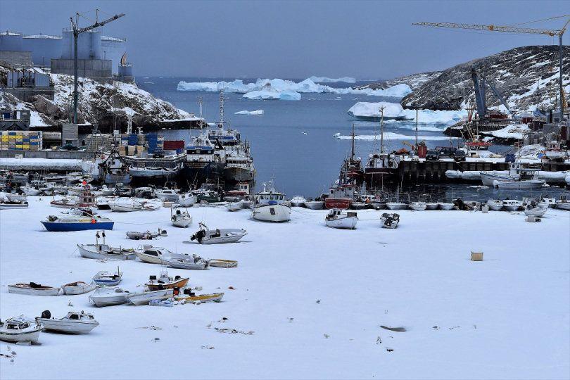 Τα πλοία δεν βγήκαν στη στεριά απλά η θάλασσα πάγωσε στο κλειστό σημείο του κόλπου του Ilulussat