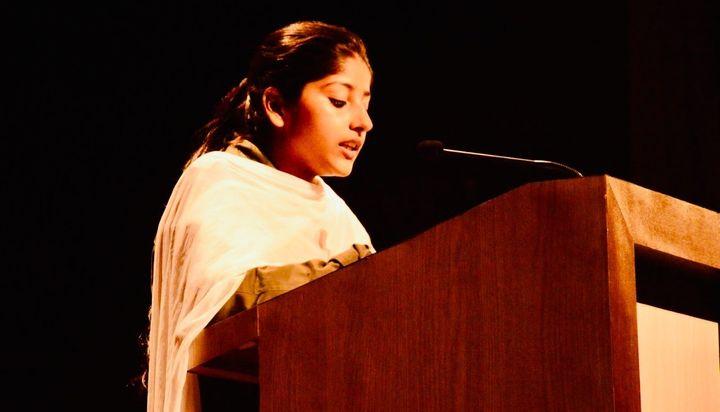 Afreen Fatima is president of AMU Women's College Students' Union.