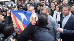 Escrache independentista e insultos a Inés Arrimadas en un paseo por