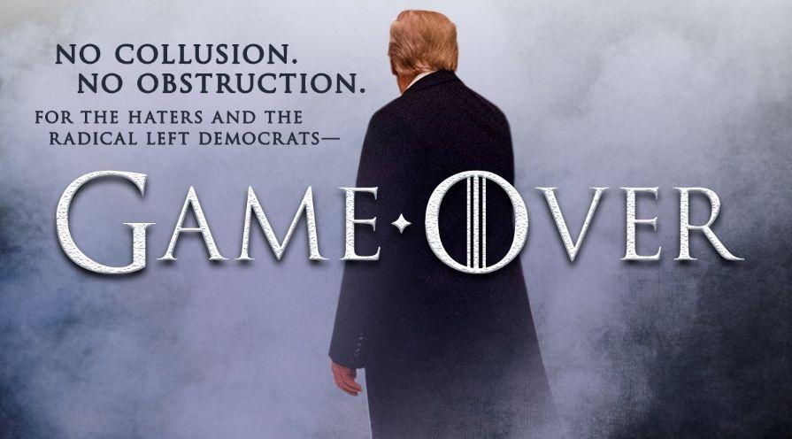 """Avant la publication du rapport Mueller, Trump a (encore) détourné """"Game of"""