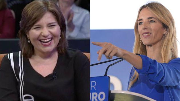 Isabel Bonig y Cayetana Álvarez de