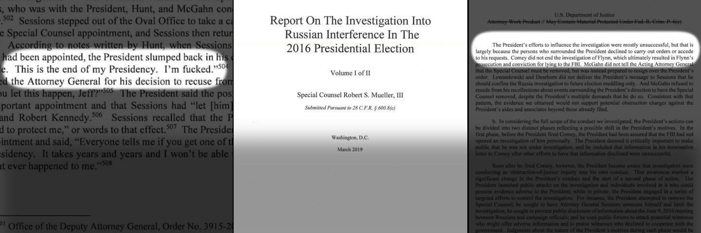 The Mueller Report Has Been Released