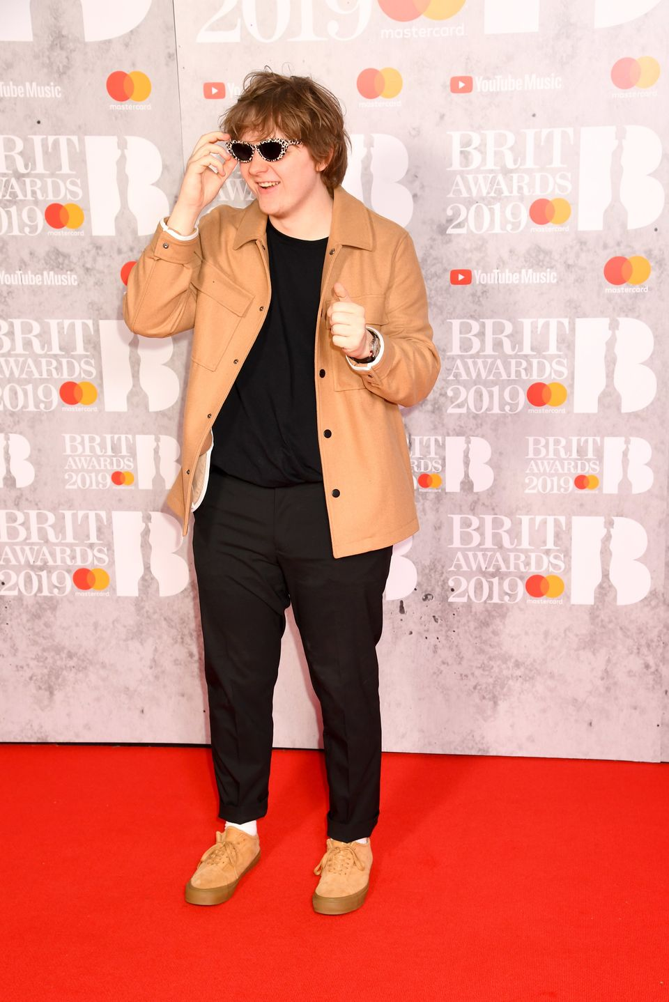 Lewis at the Brit Awards: