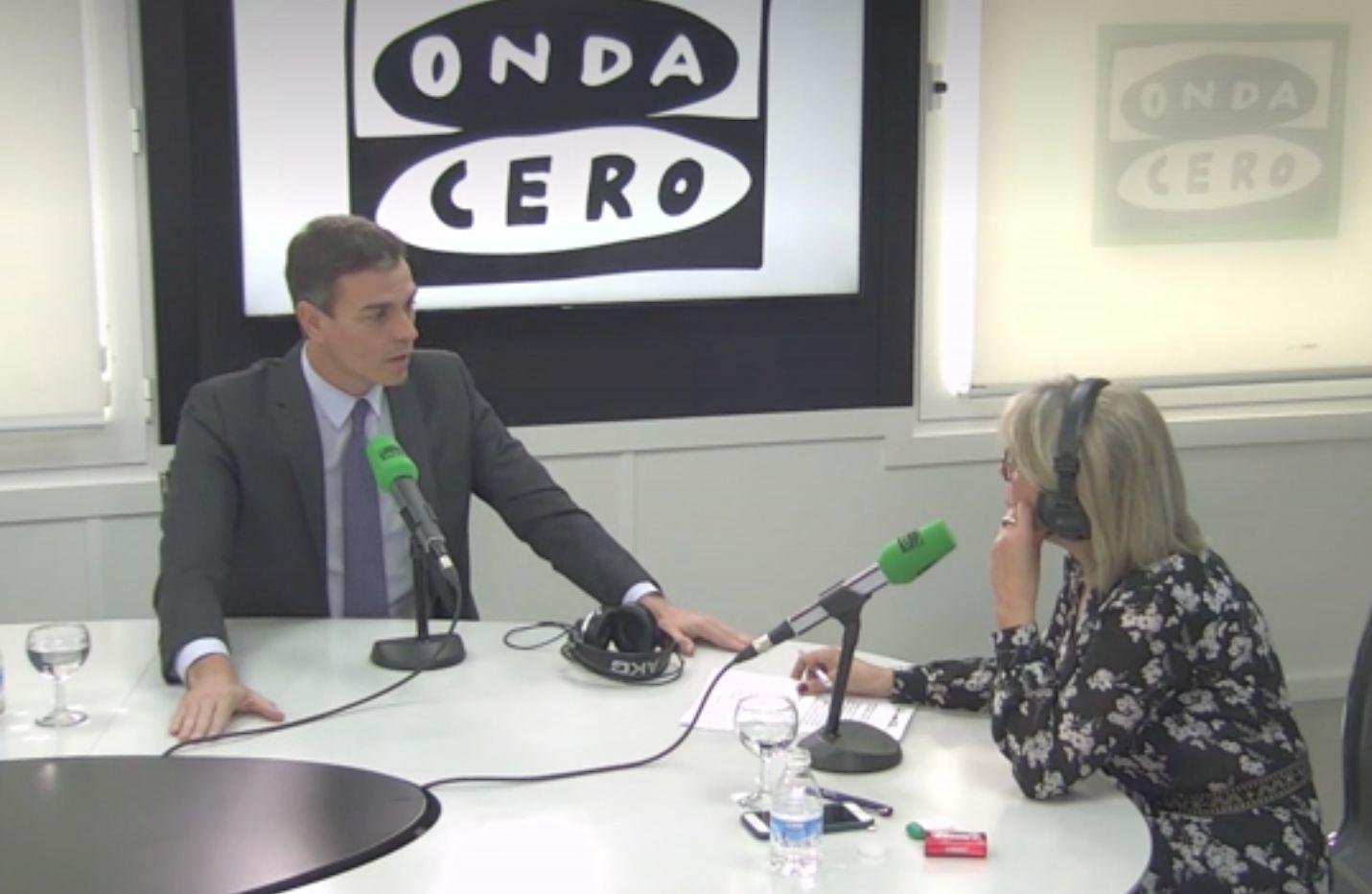 Julia Otero deja sin habla a Pedro Sánchez con esta pregunta sobre el debate