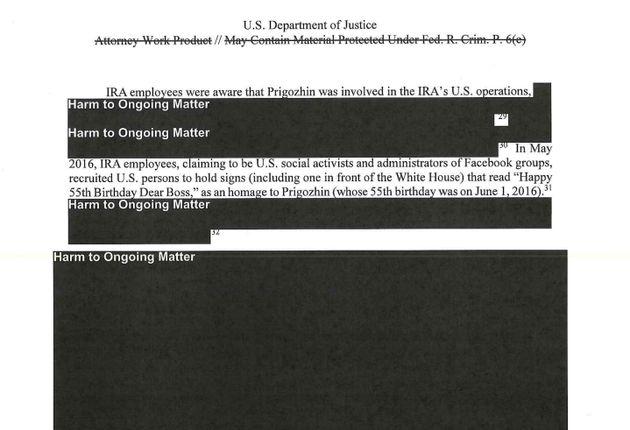 Donald Trump: le rapport Mueller, et ses blocs noirs, a fait rire les
