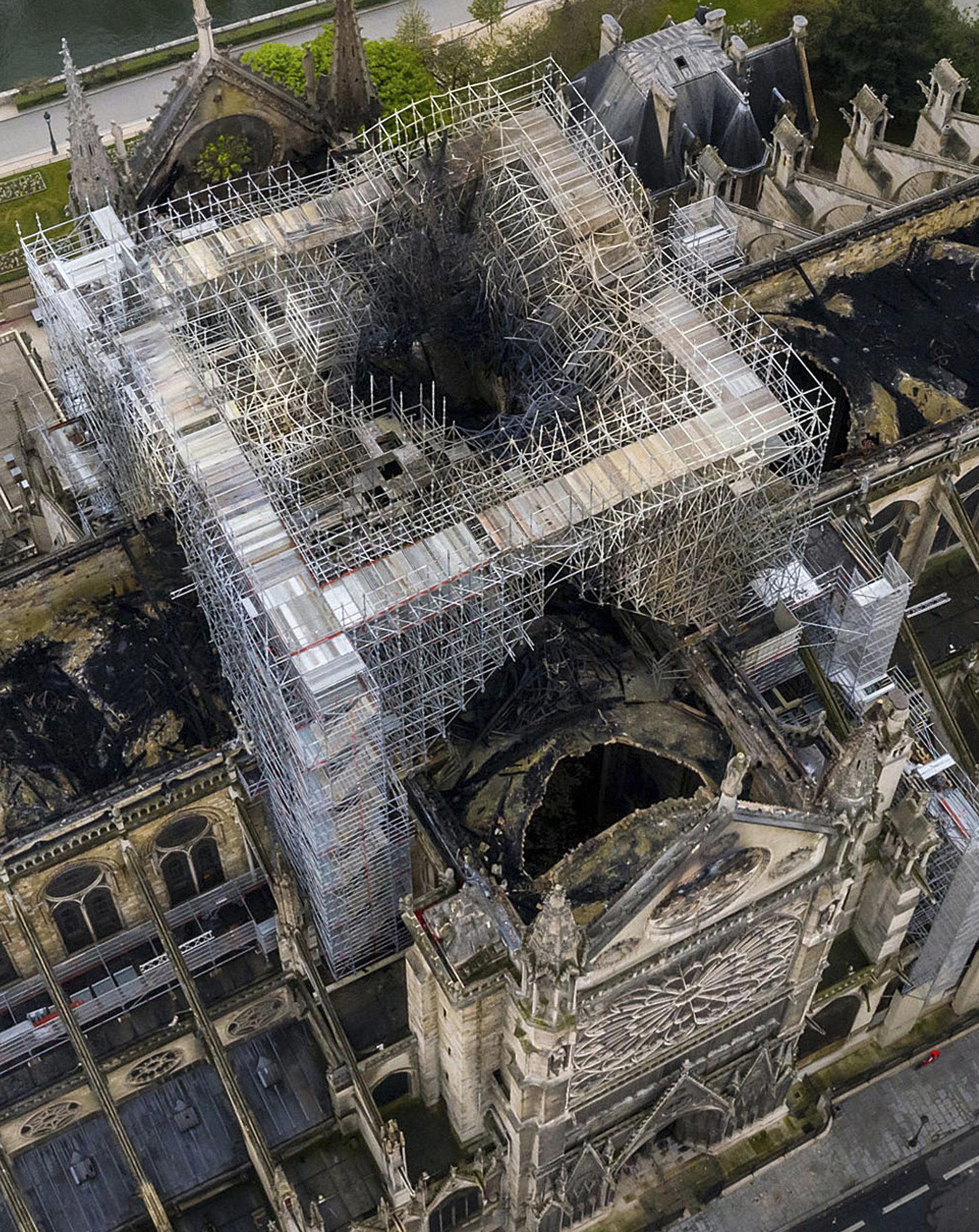 Βραχυκύκλωμα το πιο πιθανό αίτιο της φωτιάς στην Παναγία των