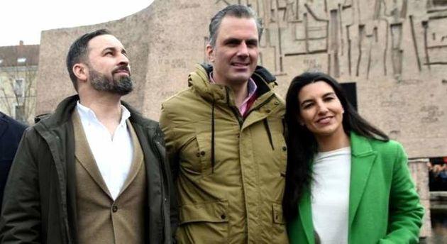 Ortega Smith será candidato de Vox al Ayuntamiento de Madrid y Monasterio, a la