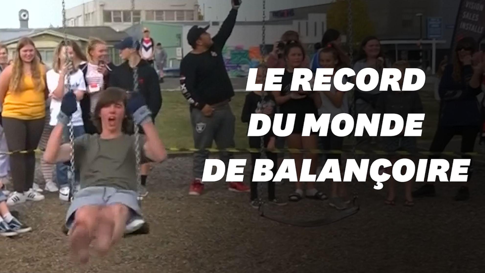 Le record du monde de balançoire battu par un