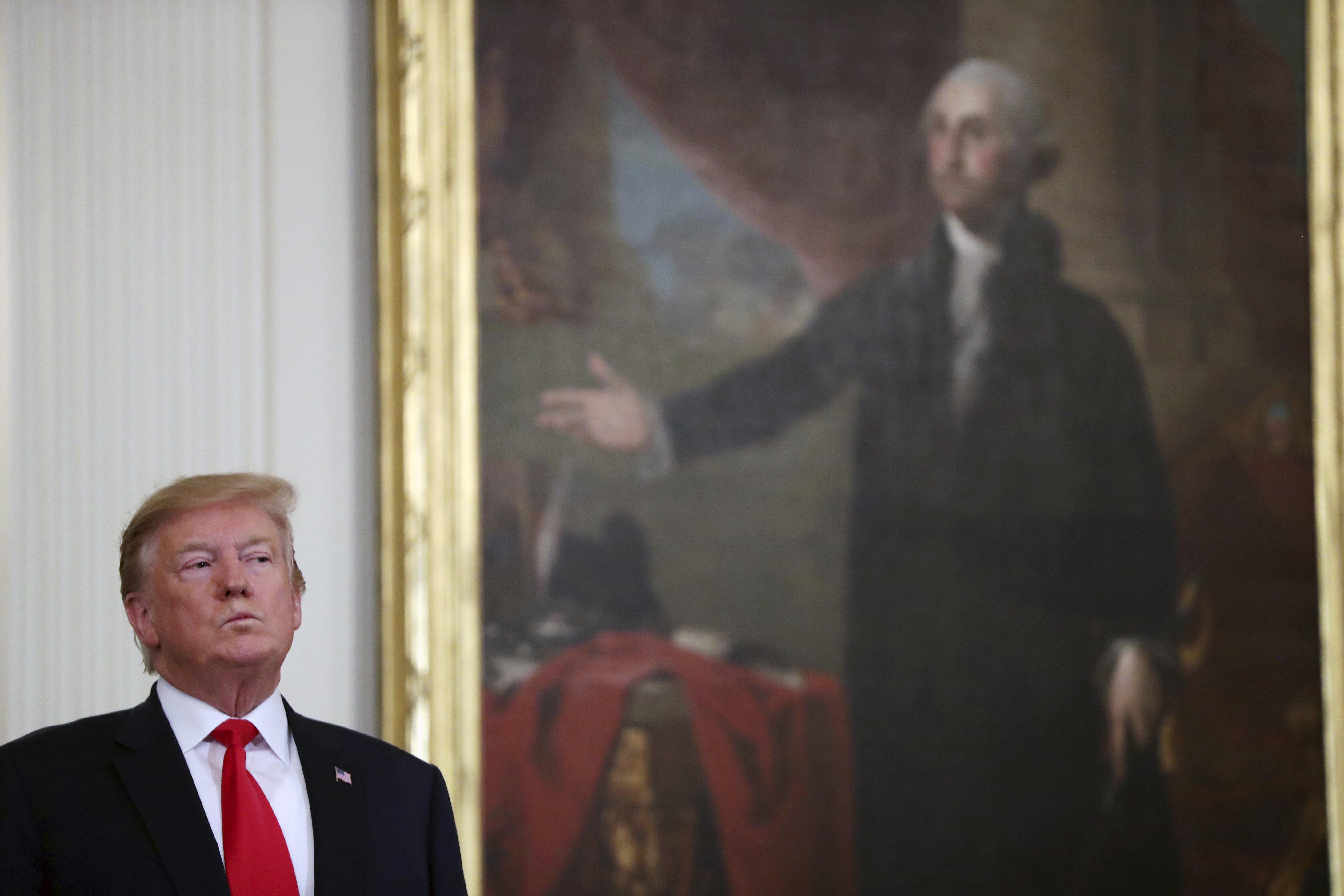 """""""Je suis foutu"""": dans son rapport, Mueller révèle la réaction de Trump à l'ouverture de"""