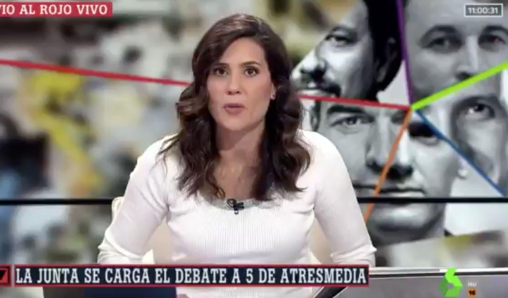 La queja de una periodista de TVE por este comentario de María Llapart en 'Al Rojo