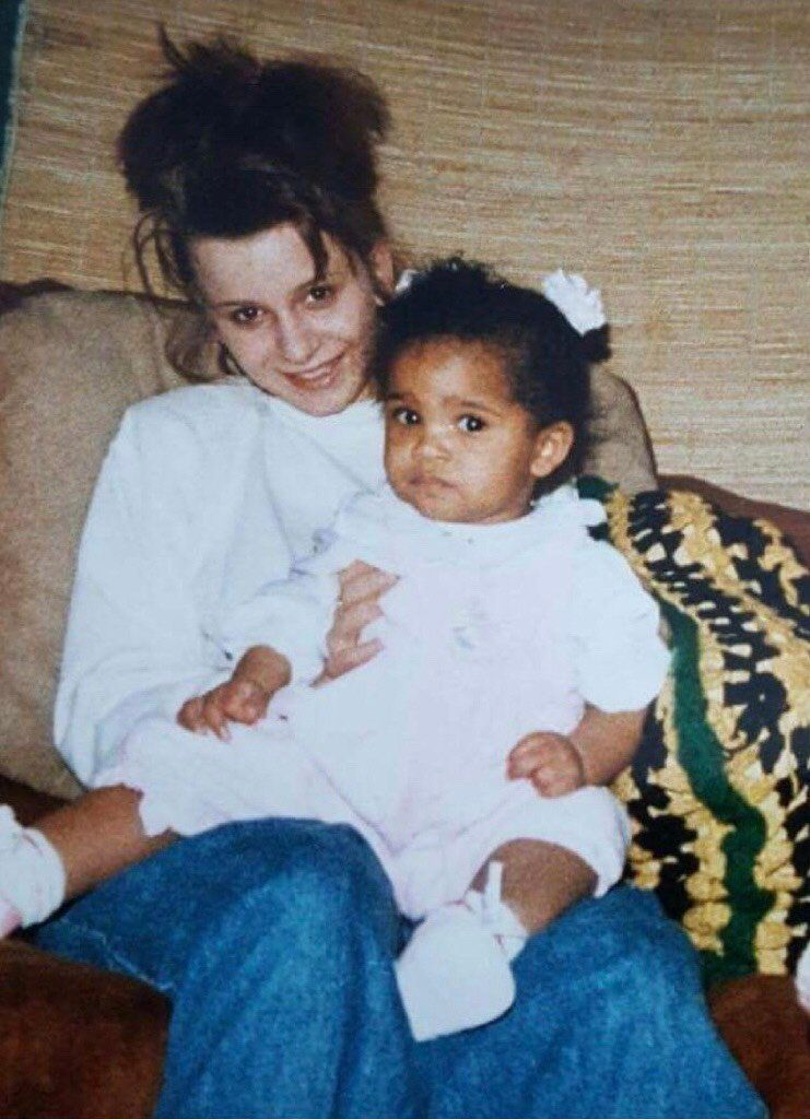 Debbi Merinsky-Browne e sua filha Jasmine