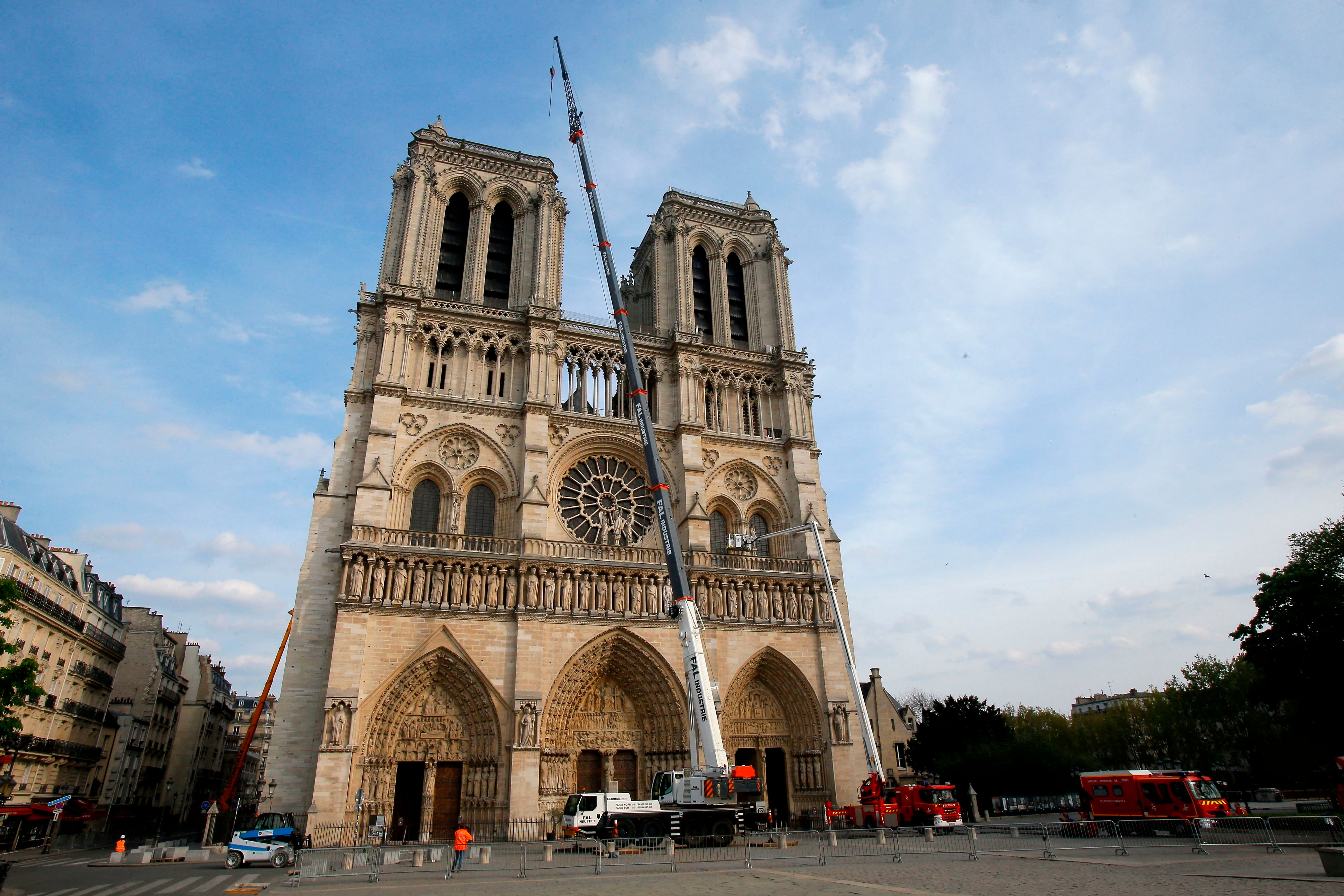 Les manifestations de gilets jaunes autour de Notre-Dame