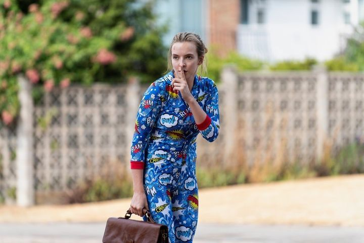 "Jodie Comer in ""Killing Eve"" Season 2."