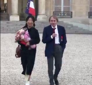 Michel Houellebecq décoré de la Légion d'honneur par
