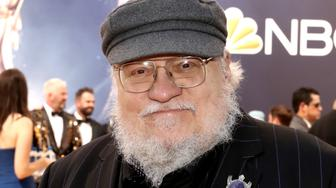 LOS ANGELES, CA - SEPTEMBER 17:  70th ANNUAL PRIMETIME EMMY AWARDS -- Pictured: Writer George R. R. Martin arrives to the 70th Annual Primetime Emmy Awards held at the Microsoft Theater on September 17, 2018.  NUP_184218  (Photo by Todd Williamson/NBC/NBCU Photo Bank via Getty Images)