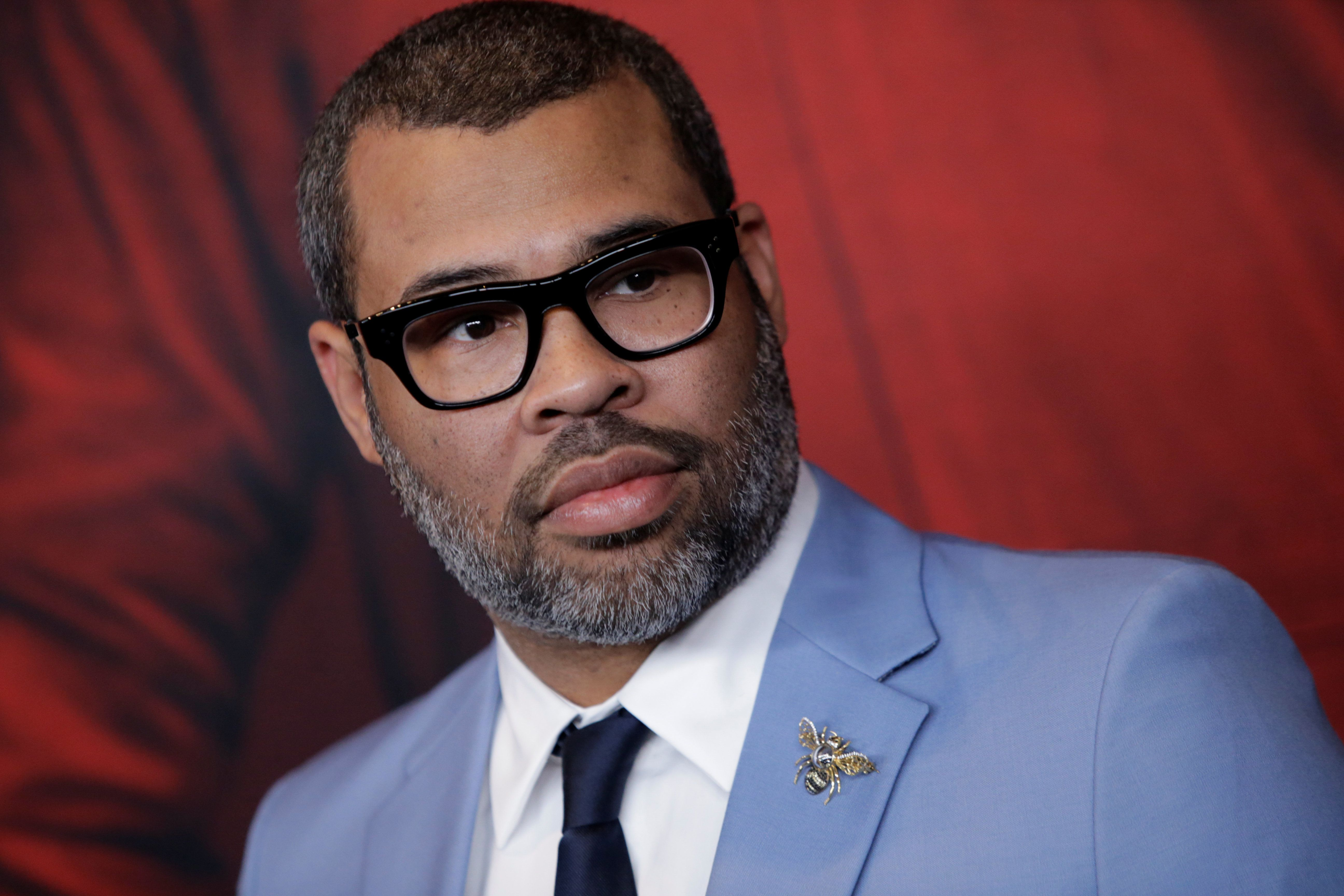 "Director Jordan Peele attends the ""Us"" premiere at The Museum of Modern Art in New York City, New York, U.S., March 19, 2019. REUTERS/Eduardo Munoz"