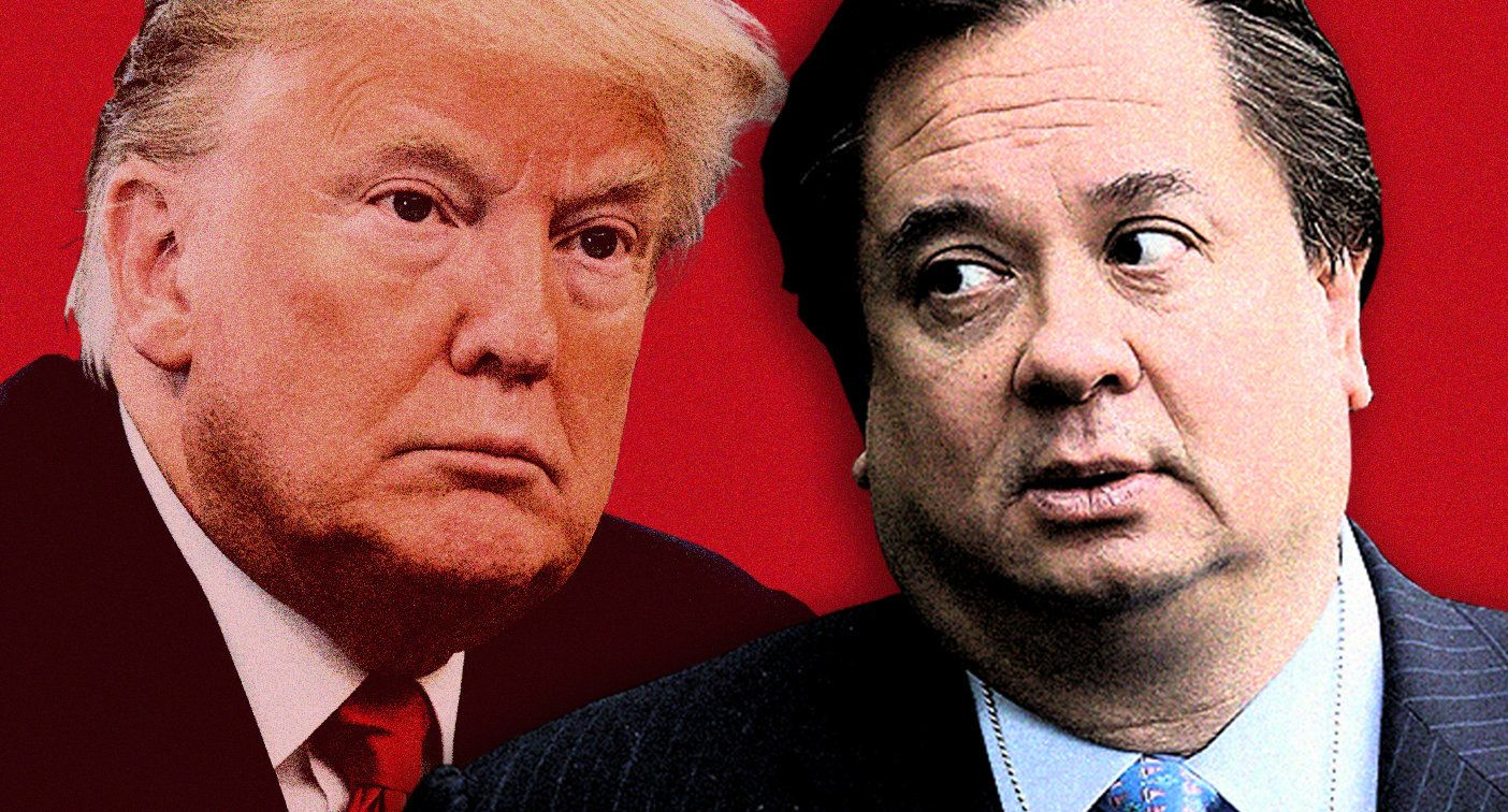 President Trump and George Conway. (Photo: Yahoo News, Photos: AP, Chip Somodevilla / Getty Images)