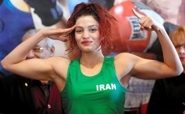 イランの女性ボクサー帰国できず 肌露出に逮捕状の情報