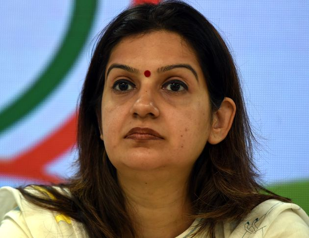 Priyanka Chaturvedi Quits Congress And Joins Shiv