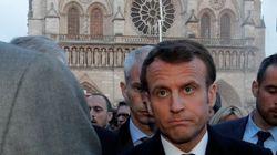 La popularité de Macron en hausse après l'incendie de