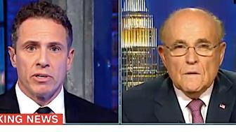 Chris Cuomo and Rudy Giuliani