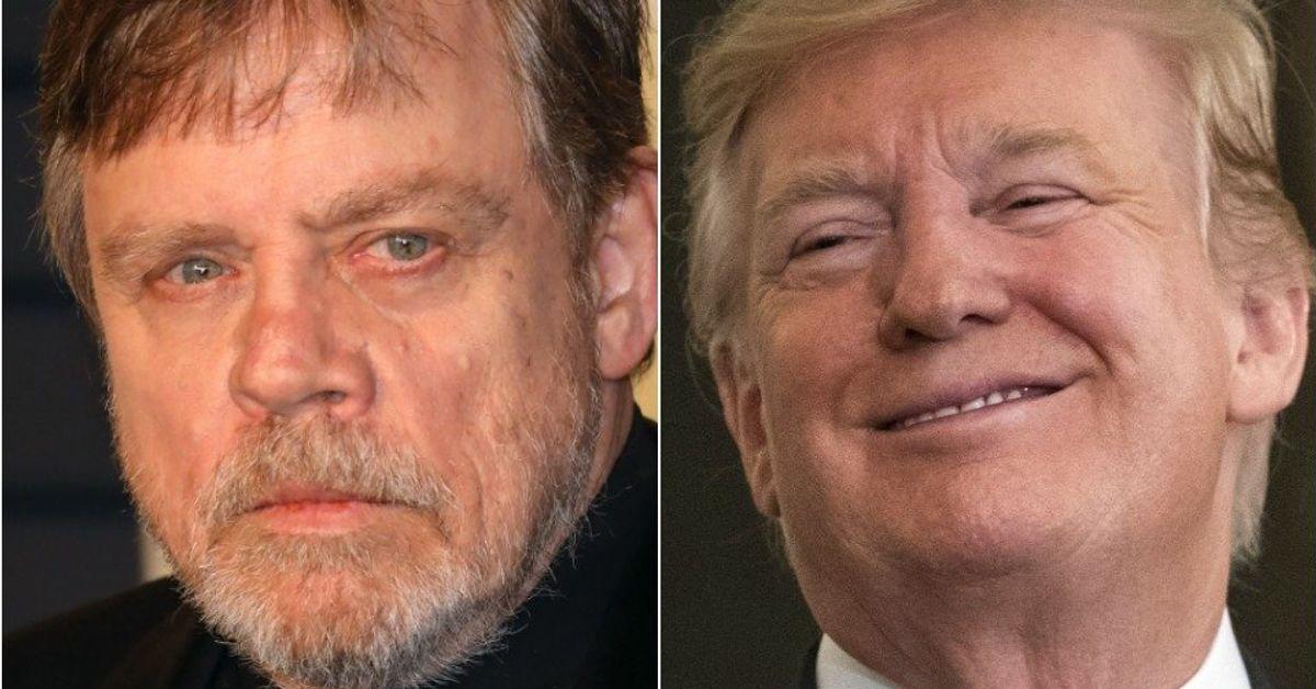 Mark Hamill Trolls Pro-Trump Rally With A Blunt Star Wars Comparison