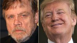 Mark Hamill Trolls Pro-Trump Rally With A Blunt Star Wars