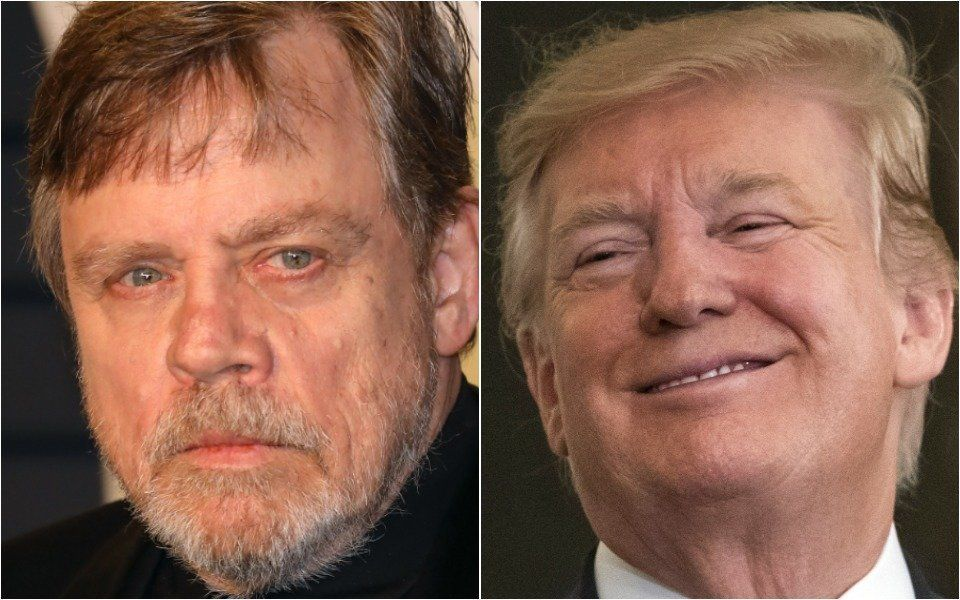 Hamill and Trump