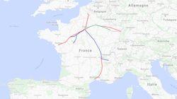 Ces lignes TGV sont les pires pour les retards et