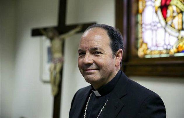 El obispo de Vitoria, Juan Carlos Elizalde, en una imagen de